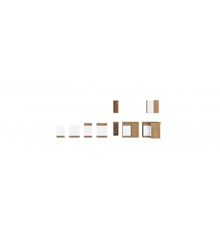 Szafka stojąca VIGO biały połysk 50 DK-145 1F (3S) BB