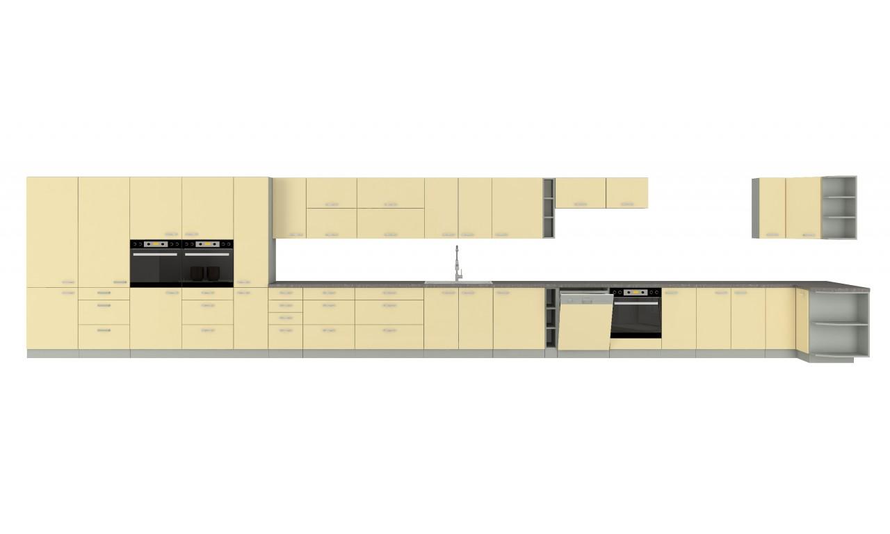 Szafka stojąca KARMEN 60 DKS-210 3S 1F