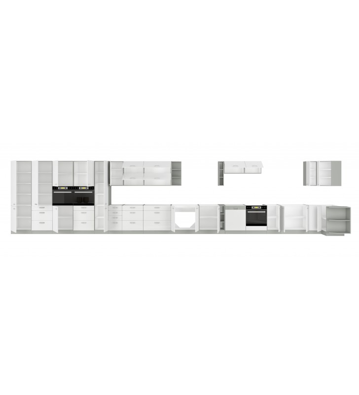 Szafka stojąca narożna BIANKA 89x89 DN 1F BB