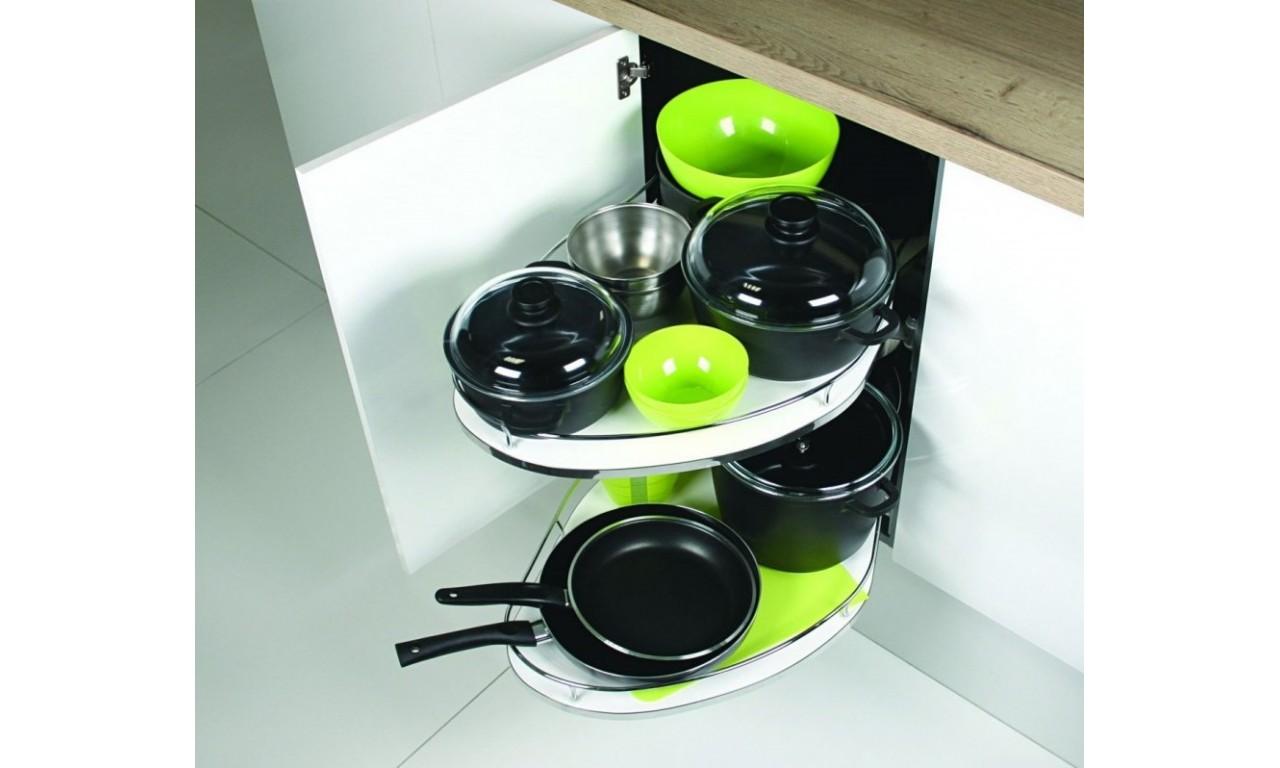 Zestaw mebli kuchennych ARTISAN A cappucino połysk