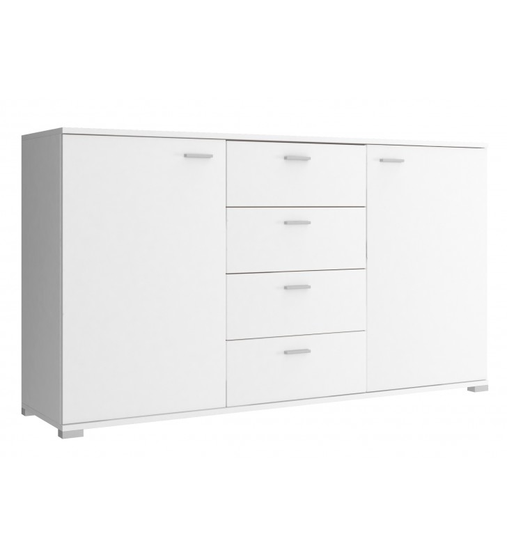 Biała, bardzo szeroka komoda (150 cm) PK150