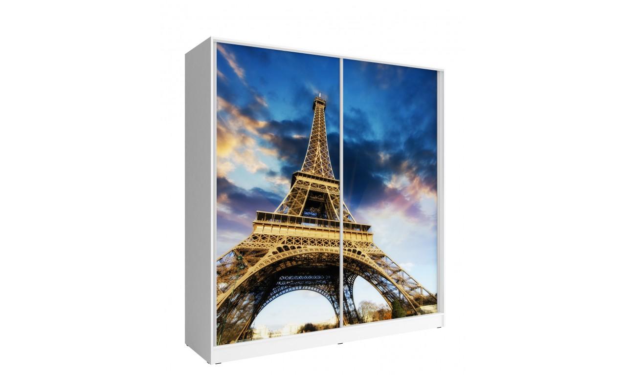 Szeroka szafa przesuwna z FOTO PARIS