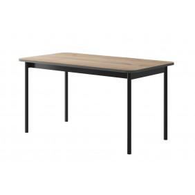 Brązowo-grafitowy stół BASIC BL140