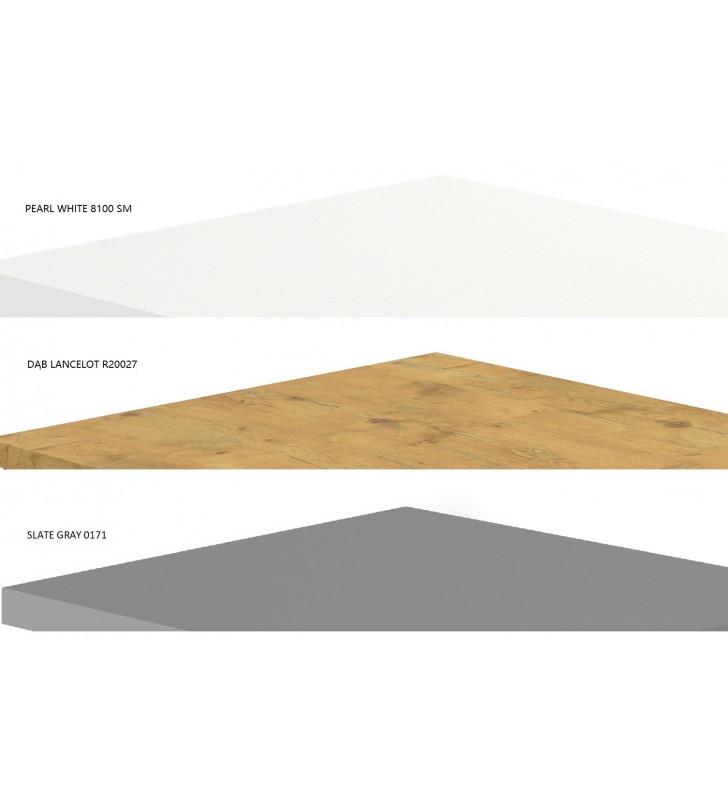 Kwadratowa (55x55 cm) ława w kilku odsłonach kolorystycznych Barto