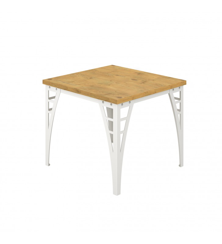 Kwadratowy stół (90x90) w kilku odsłonach kolorystycznych Barto