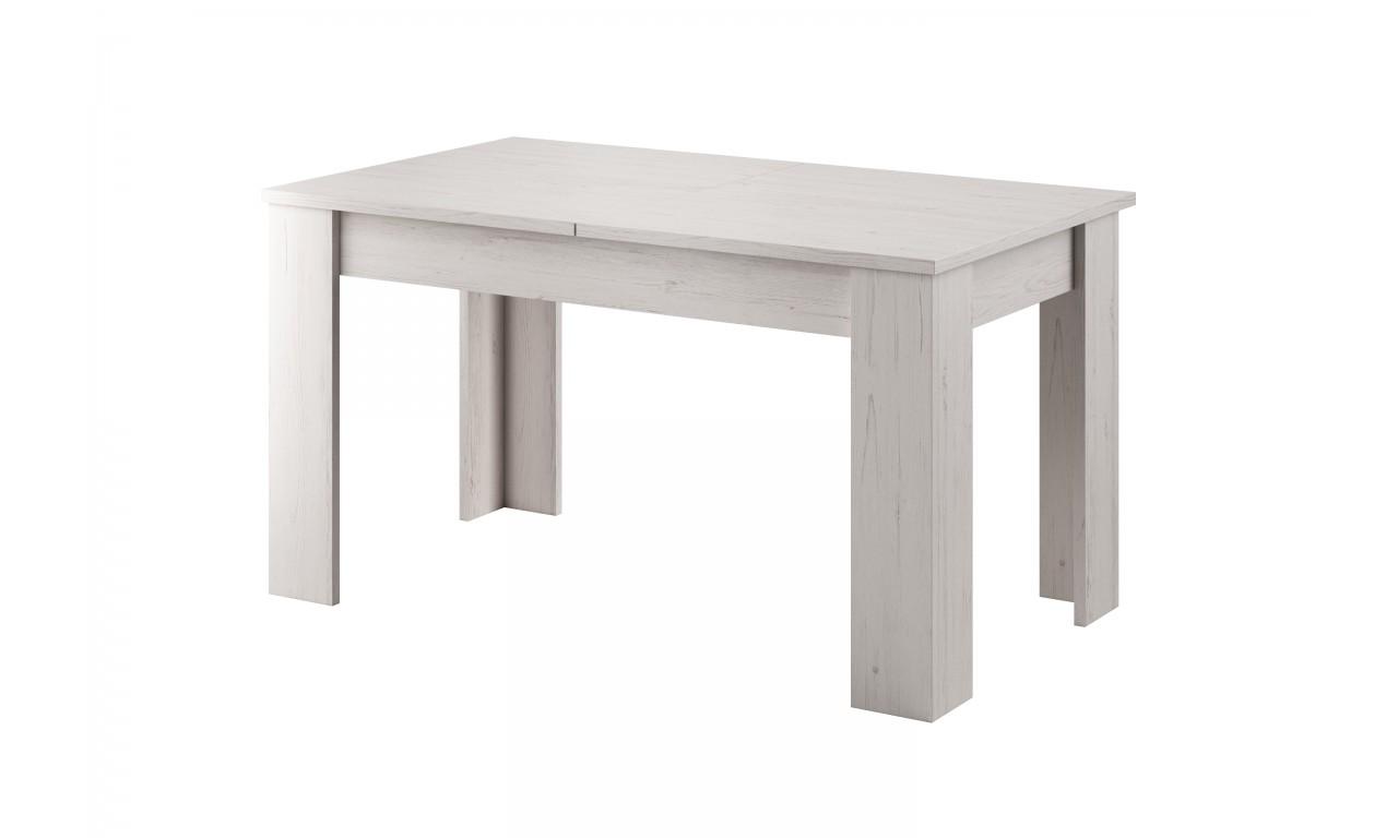 Biały, rozkładany stół (140-180 cm) w stylu klasycznym Rene L140