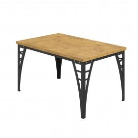 Prostokątny, brązowy stół (120x90) Barto - ostatnia sztuka!!!