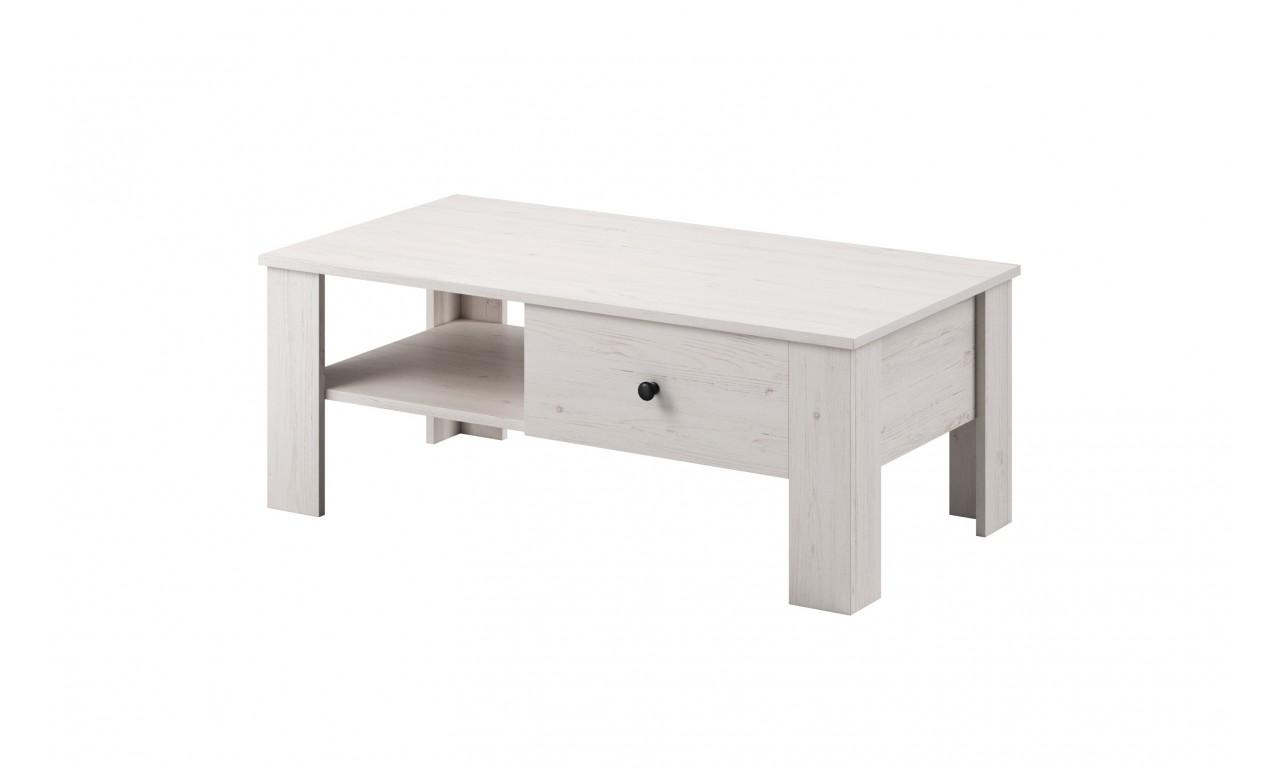Zestaw białych mebli do salonu w stylu klasycznym Rene 1