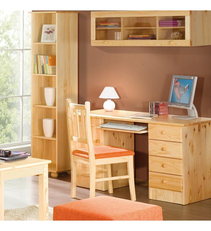 Klasyczny stolik RTV City z drewna sosnowego należący do kolekcji Classic