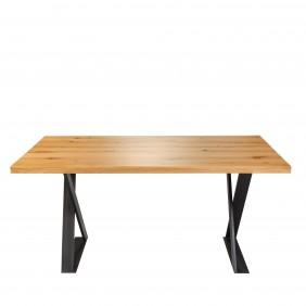 Stół dębowy w stylu industrialnym RUBEN