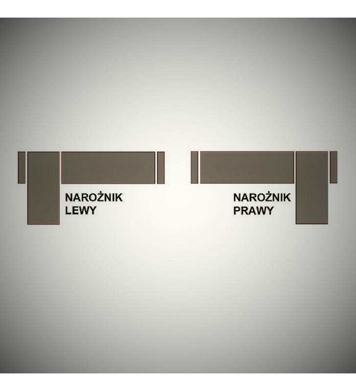 Szary narożnik z funkcją spania i pojemnikiem na pościel Finn (inari91+soft17)