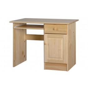 Małe biurko z drewna sosnowego należące do kolekcji Classic