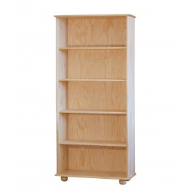Regał z drewna sosnowego należący do kolekcji Classic