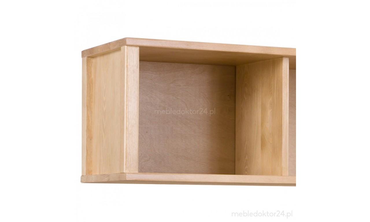 Półka z litego drewna sosnowego należąca do kolekcji Prestige