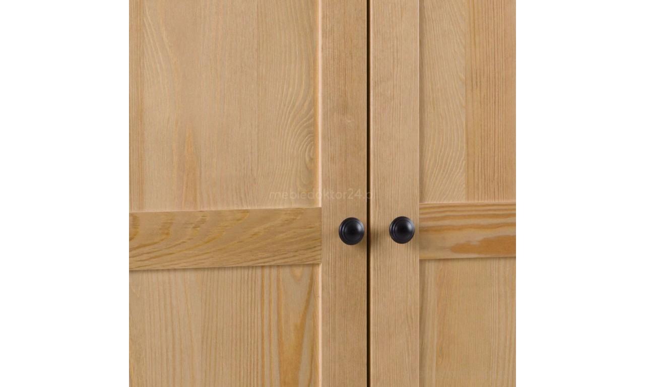 Szafa III z litego drewna sosnowego należąca do kolekcji Prestige