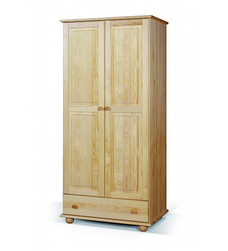 Szafa 80 z drewna sosnowego należąca do kolekcji Classic