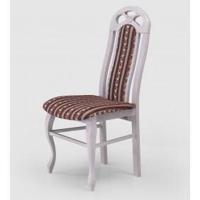 Krzesło w stylu prowansalskim IRYS, będący uzupełnieniem kolekcji Diana