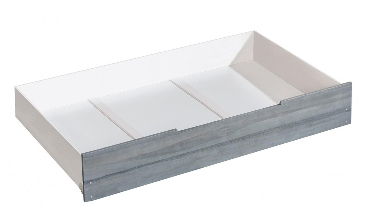 Łóżko dziecięce jednoosobowe ALAN AL1 z szufladą na pościel AL2 w opcji