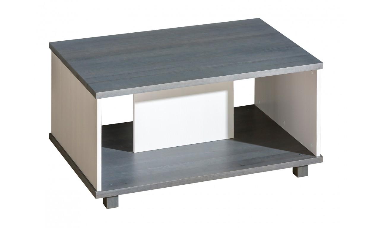 Zestaw mebli do salonu w stylu nowoczesnym z drewna sosnowego ALAN A