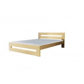 Łóżko (180x200) z drewna sosnowego Marika