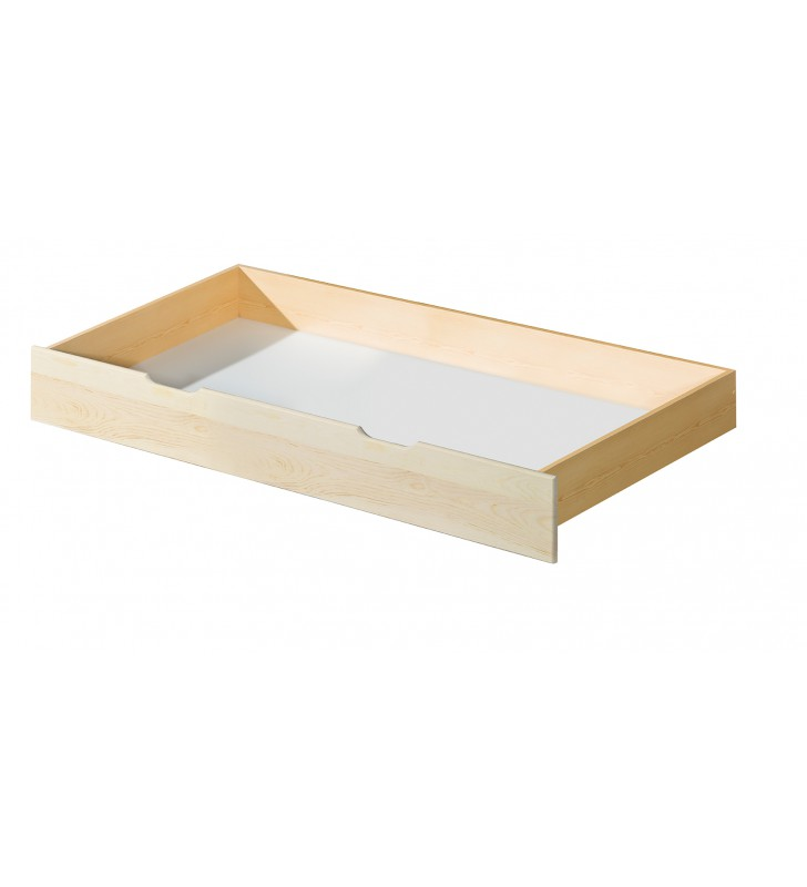 Łóżko (160x200) z drewna sosnowego Roma