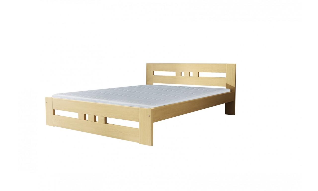 Łóżko (120x200) z drewna sosnowego Roma