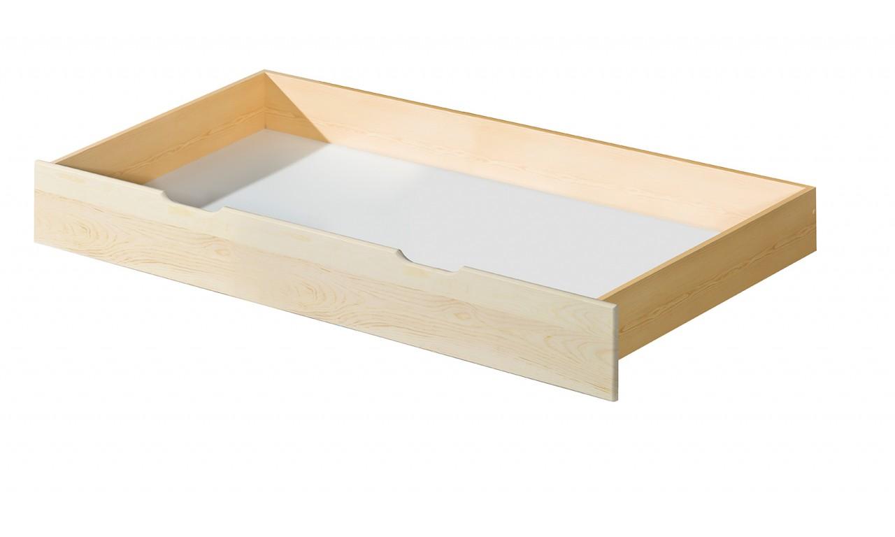 Łóżko (90x200) z drewna sosnowego Roma