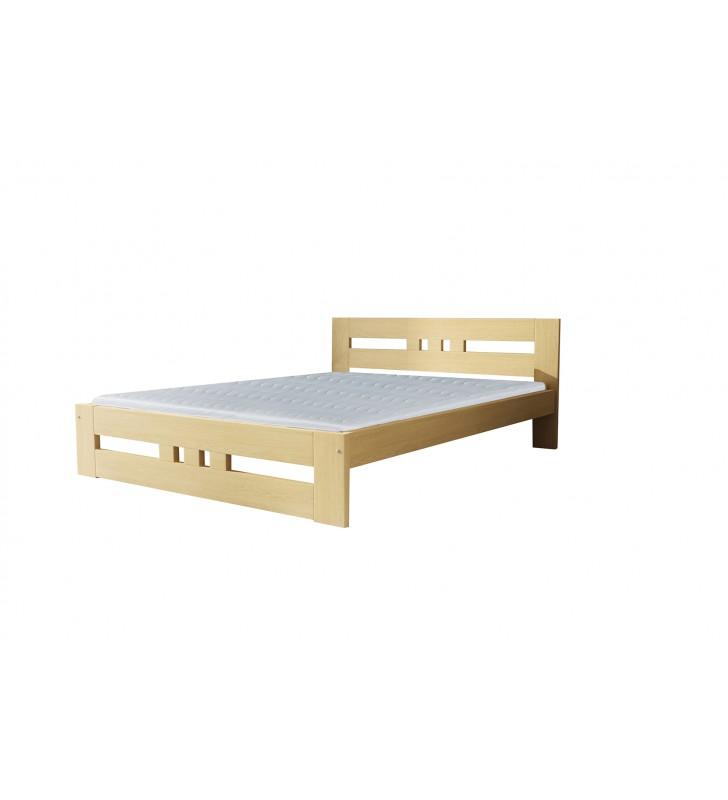 Łóżko (80x200) z drewna sosnowego Roma