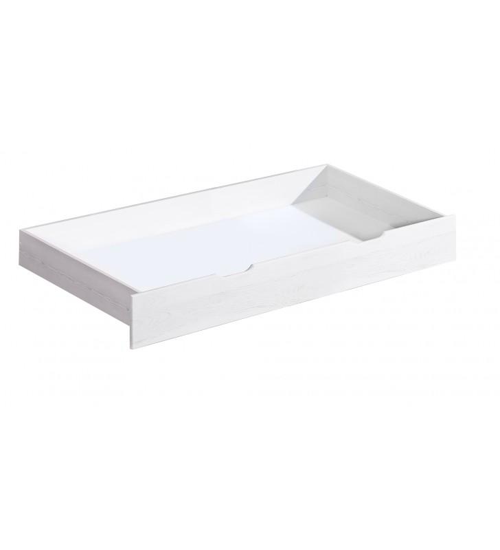 Łóżko (90x200) z drewna sosnowego Kosma