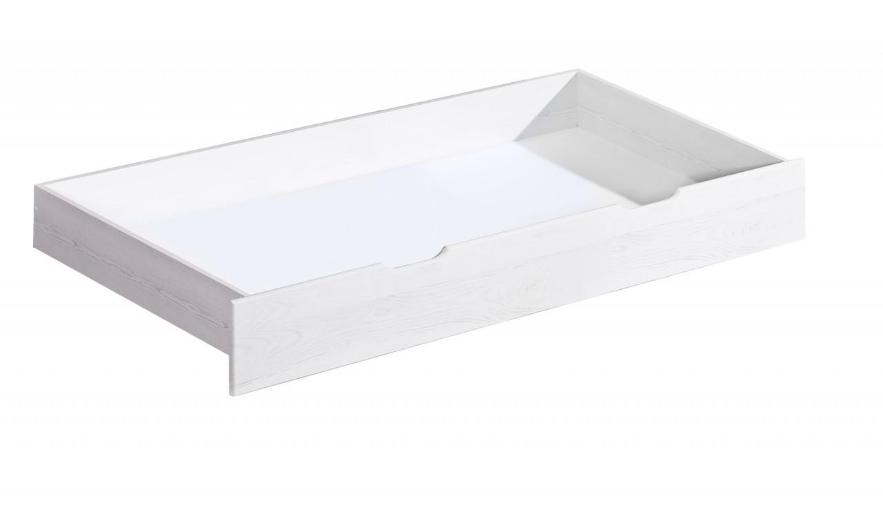 Łóżko (140x200) z drewna sosnowego Kosma