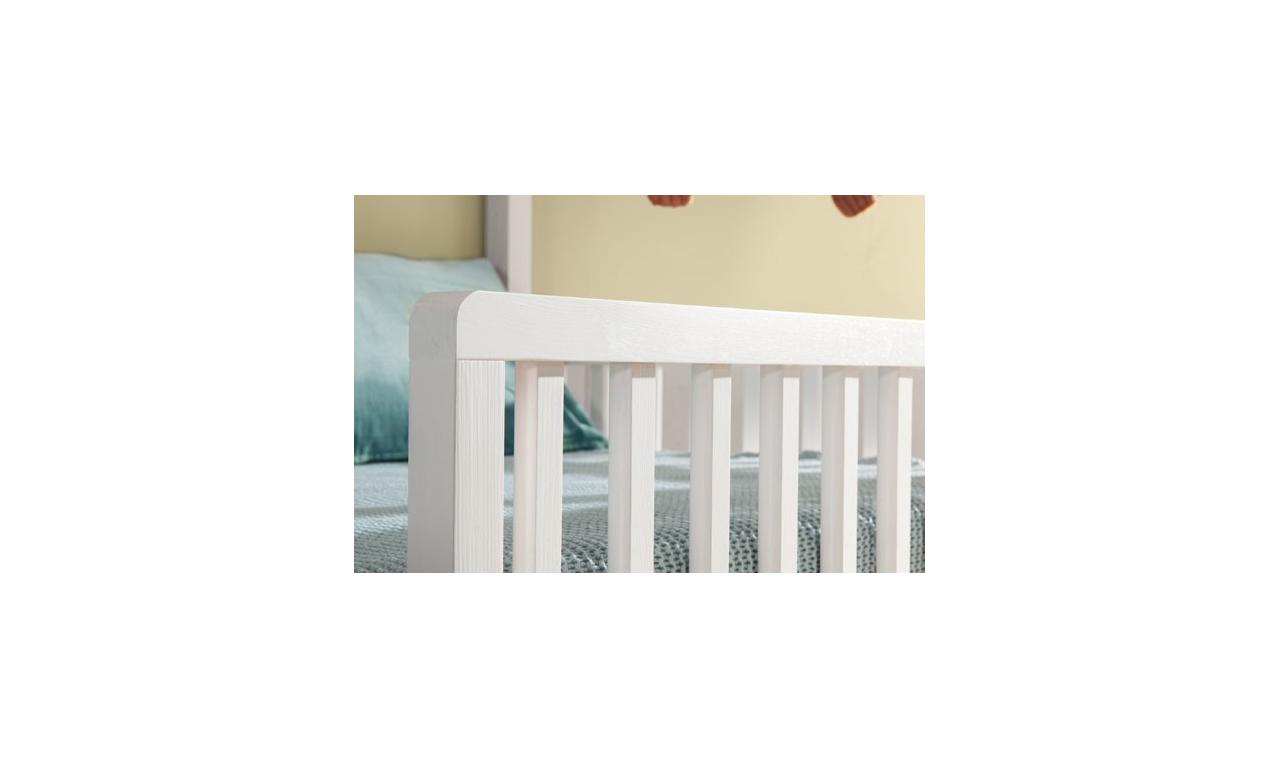 Łóżeczko dziecięce w kształcie domku w kilku kolorach do wyboru Wiktor