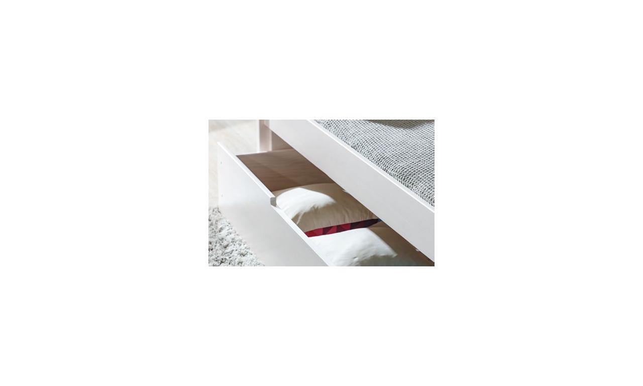 Łóżko dziecięce pojedyncze z opcją szuflady w różnej kolorystyce BORYS B1