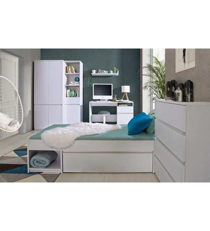 Szafka nocna w stylu nowoczesnym, dostępna w dwóch propozycjach kolorystycznych ARCA AR10