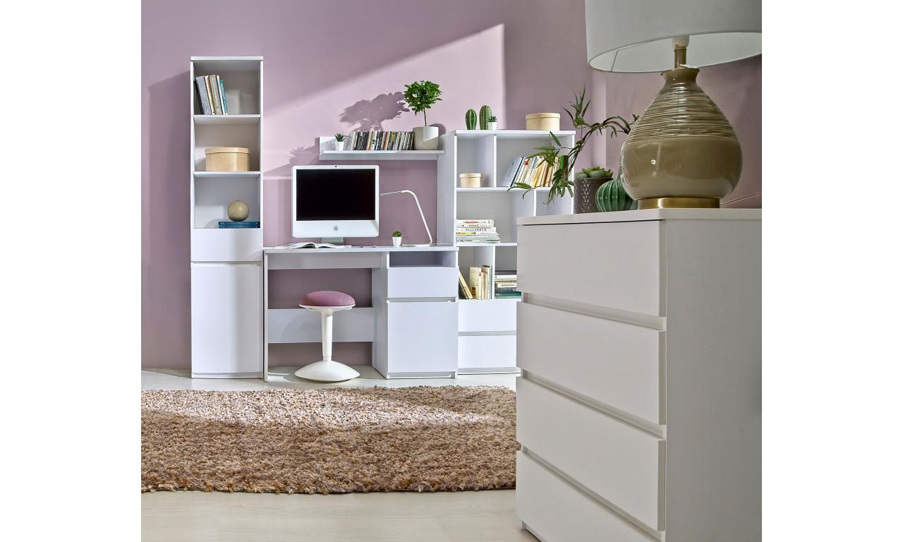 Półka w stylu nowoczesnym, dostępna w dwóch propozycjach kolorystycznych ARCA AR12