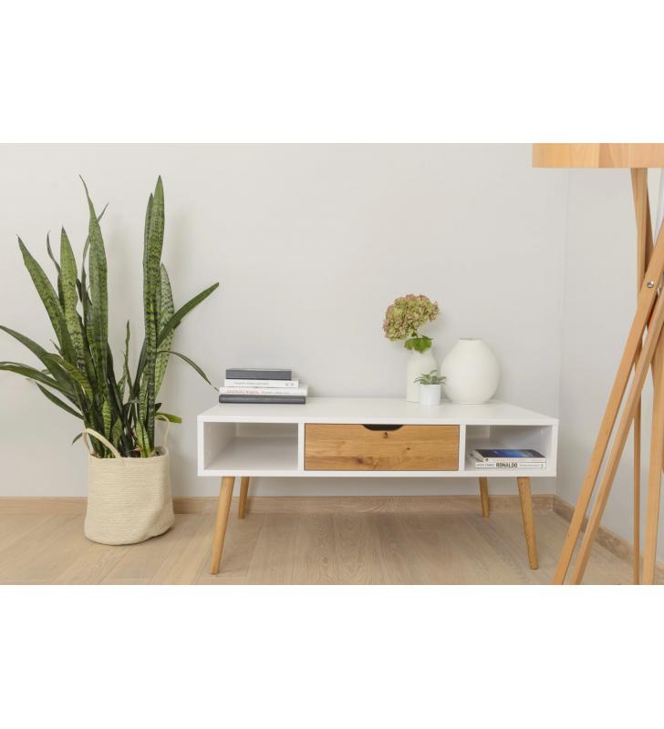 Stolik kawowy w stylu skandynawskim BOX