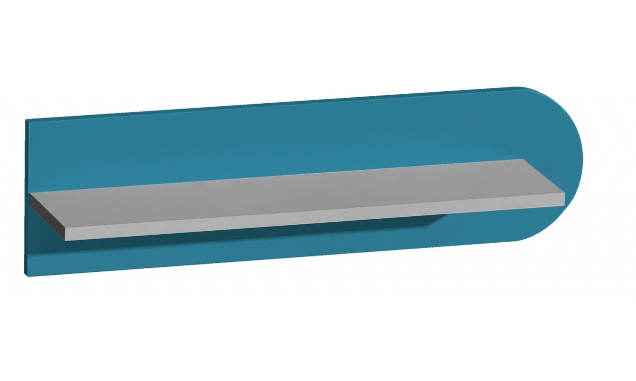 Półka wisząca w różnych kombinacjach kolorystycznych FUTURO F10