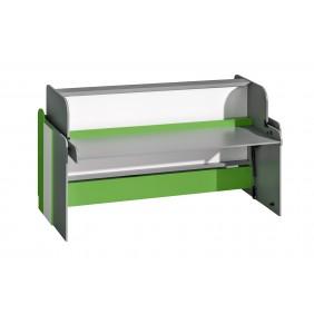 Łóżko-biurko w różnych kombinacjach kolorystycznych do pokoju starszego dziecka FUTURO F14