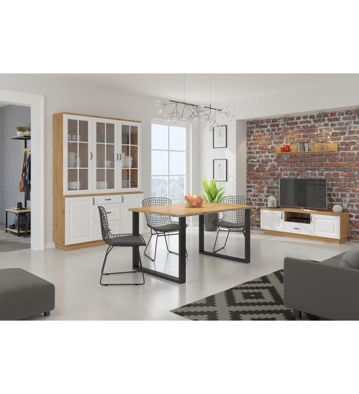 Półka w stylu rustykalnym FLAWIA