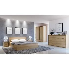Zestaw mebli w stylu nowoczesnym do sypialni MEDIOLAN 1