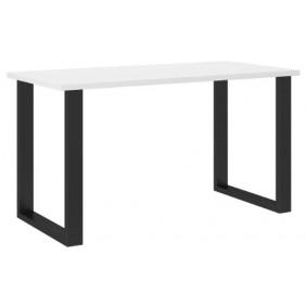 Biały stół w stylu loftowym Imperial (138x67).