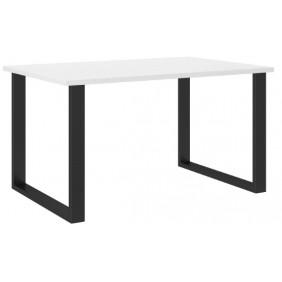 Biały stół w stylu loftowym (138x90).