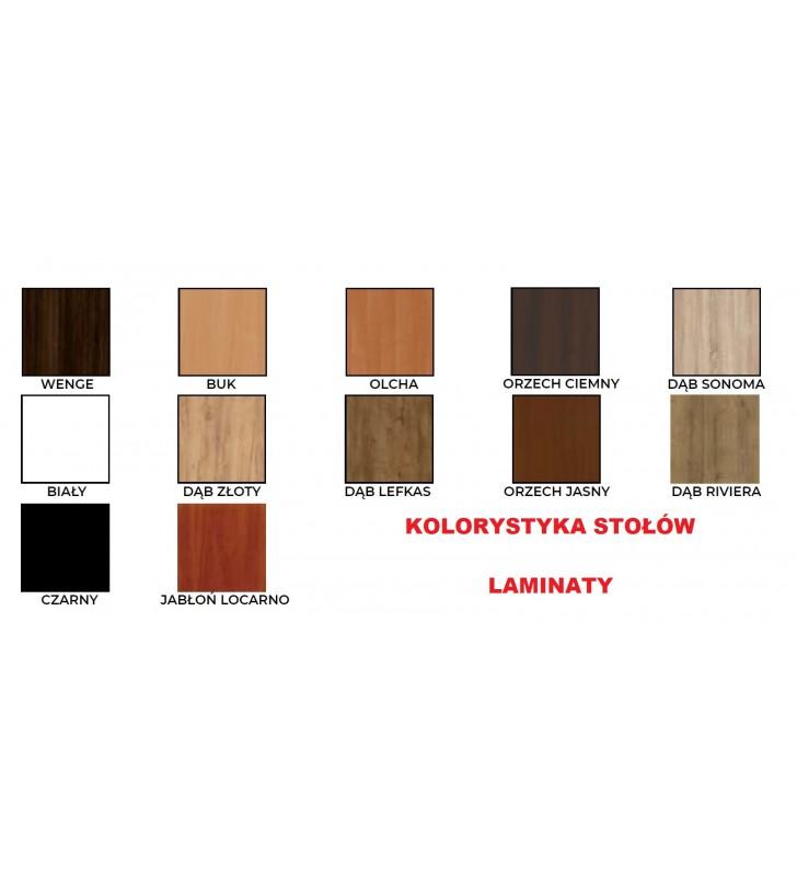 Stół bukowy (70x120), rozkładany, dowolna kolorystyka, ST66/0