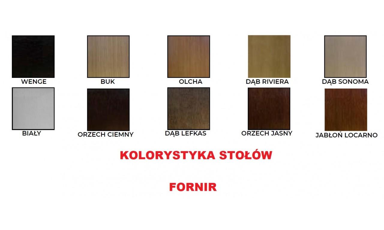 Stół bukowy (90x160), rozkładany (do 200cm), dowolna kolorystyka, ST15