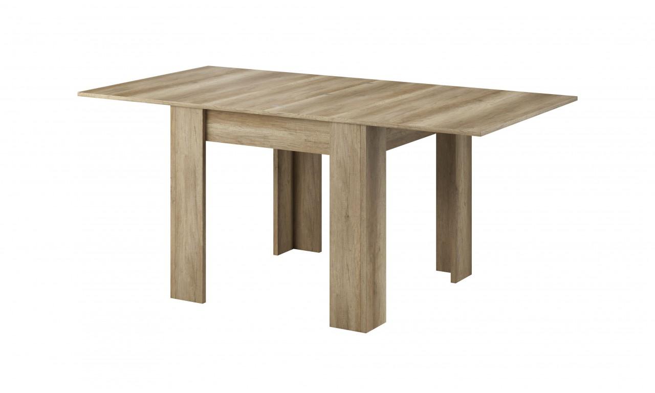 Rozkładany stół (140-180 cm) w stylu klasycznym w odcieniu brązu Sky L140