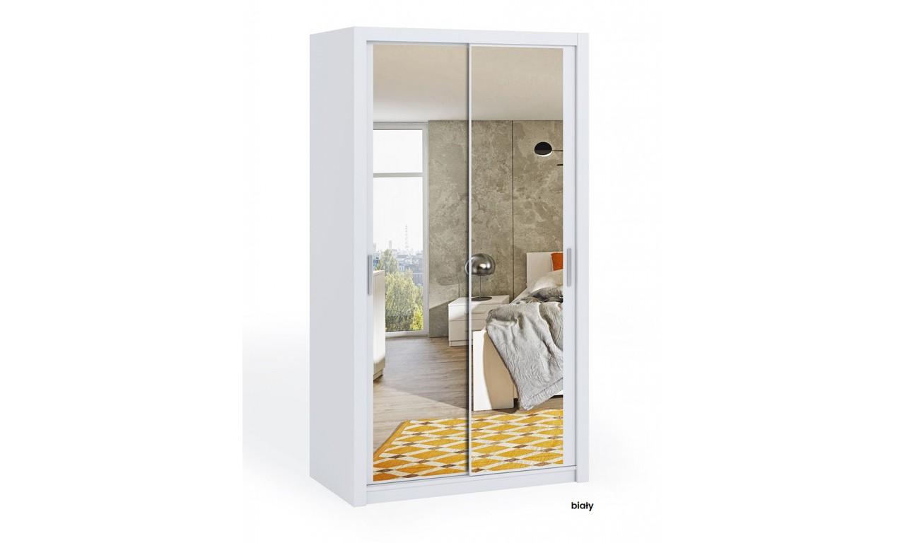 Szafa BONO 120 z lustrem dostępna w kilku wersjach kolorystycznych