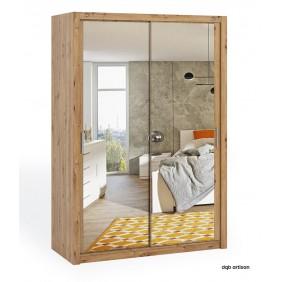 Szafa BONO 150 z lustrem dostępna w kilku wersjach kolorystycznych