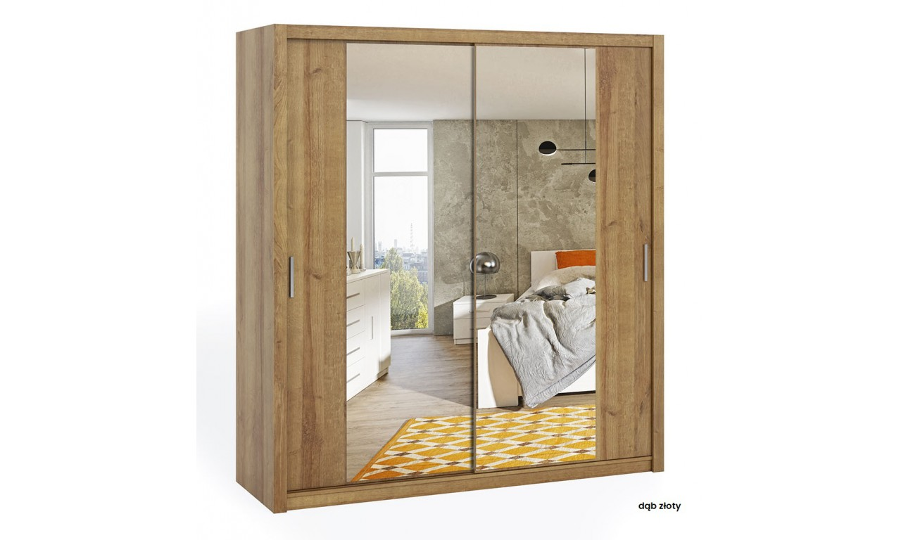 Szafa BONO 200 z lustrem dostępna w kilku wersjach kolorystycznych