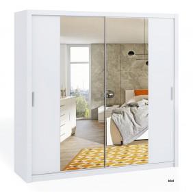 Szafa BONO 220 z lustrem dostępna w kilku wersjach kolorystycznych