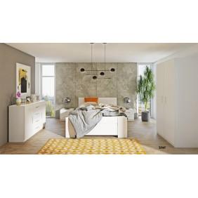 Zestaw mebli do sypialni BONO 1 dostępny w kilku wersjach kolorystycznych