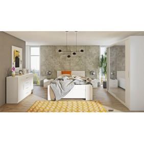 Zestaw mebli do sypialni BONO 5 dostępny w kilku wersjach kolorystycznych